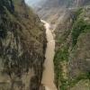 Das ist die schmalste Stelle des Yangtse
