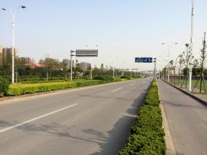 Fahrradstraße im SIP