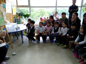 "Chinesischunterricht während der ""Open Class"""
